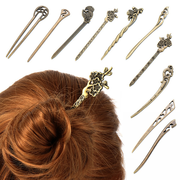 Fashion, Hairstyling, Hair Clip, Vintage