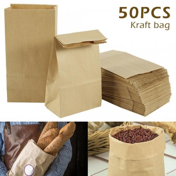 breadbag, brown, foodcontainer, kraft