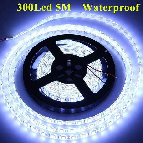 Rv LED Strip Light 5M 300 LEDs Waterproof Blue 12V Truck Car// Suv Boat