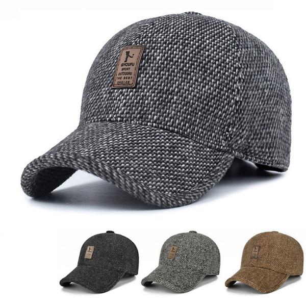 Adjustable Baseball Cap, Outdoor, Classics, Men