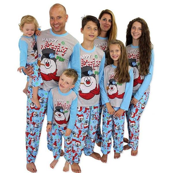 Sleepwear, matchingromper, Christmas, Family
