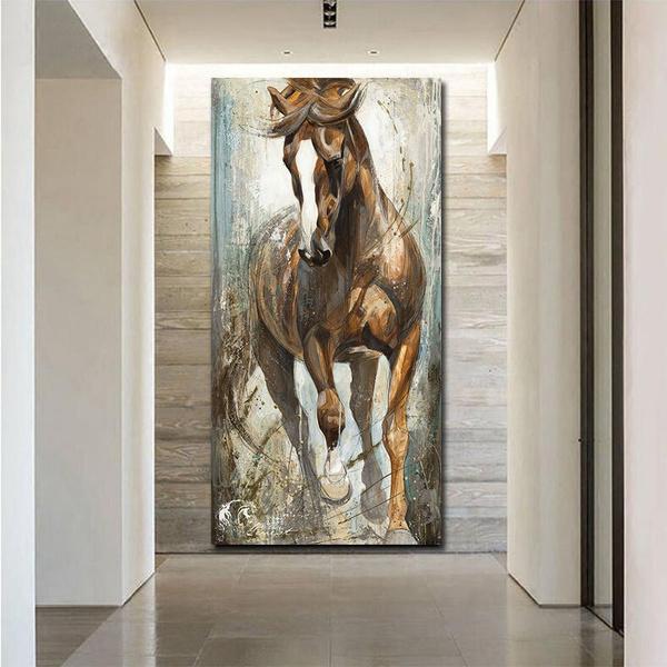 horse, art, Home Decor, Home & Living