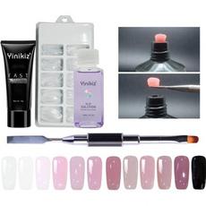 polygel, Beauty, fastdrygel, slipsolutiondualfunctionbrush