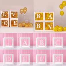 Box, babyshower, Gifts, transparentgiftboxe