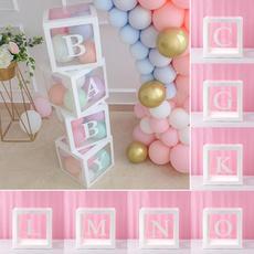 Box, babyshower, Gifts, transparentgiftboxe