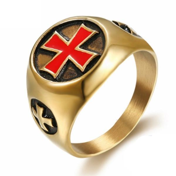 knightstemplar, religiousjewelry, Men, Cross