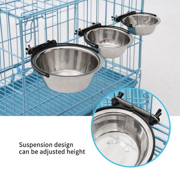 Steel, dogcagebowl, Stainless Steel, pet bowl