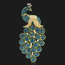 vintagebrooch, peacock, Decor, brooches