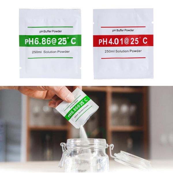 phfortestmeter, testmeter, buffer, solutionpowder
