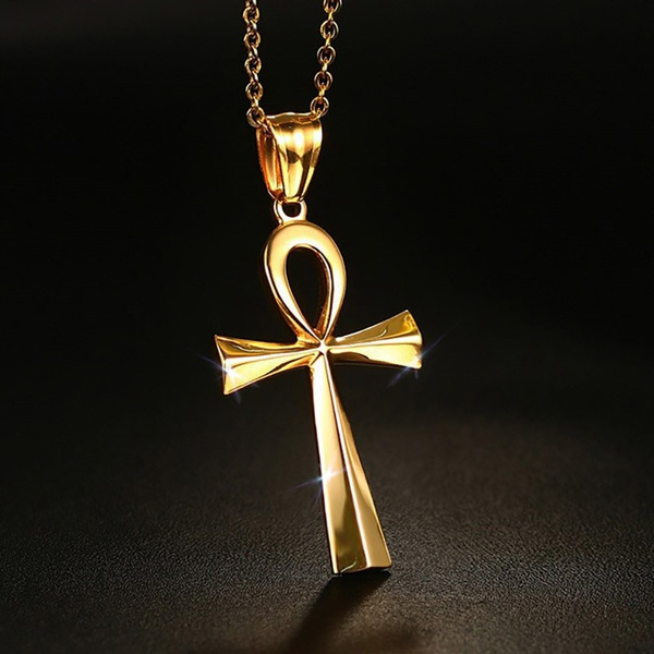 Steel, Men  Necklace, Cross necklace, Cross Pendant