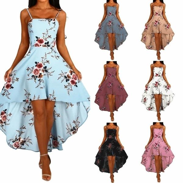 Summer, camisole, chiffon, Dress