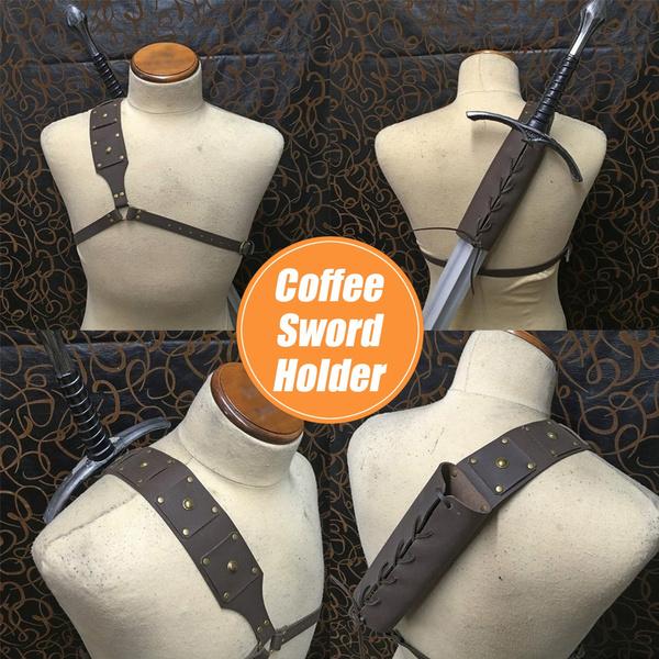 Cosplay, medievalscabbard, leather, Vintage