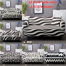 Home Decor, Classics, elasticsofacover, Stripes