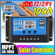 solarcontroller, Outdoor, Winter, lcd