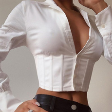 blouse, blouse women, crop top, women crop top