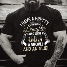 lifetshirt, grandpashirt, shovel, Shirt