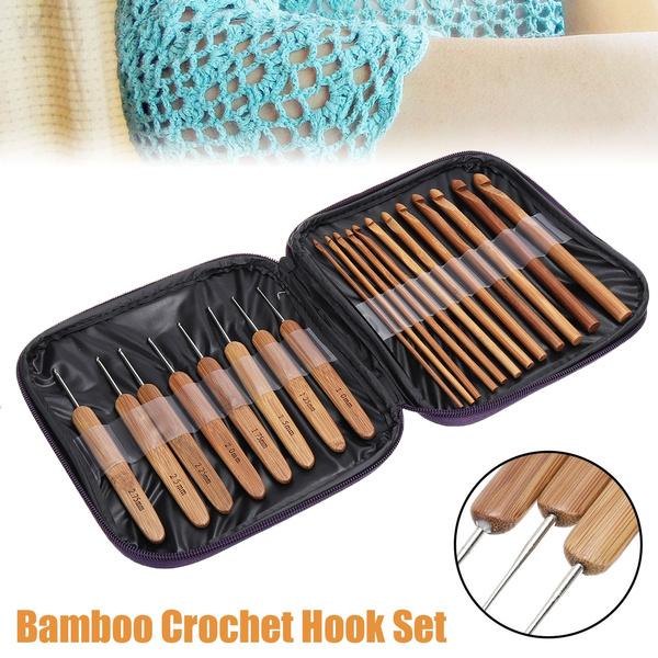 case, Knitting, bamboohandleneedle, Wooden