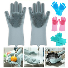 Kitchen & Dining, dishwashing, Gloves, Silicone