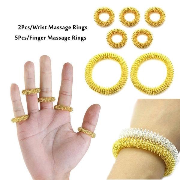 Toy, acupressuremassagering, fingermassager, Tool