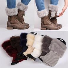 wintersock, cuffssock, womensock, fur