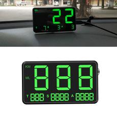 altitudedigitalspeedometer, led, Gps, bigfontsleddisplaykmhmphspeedalarm
