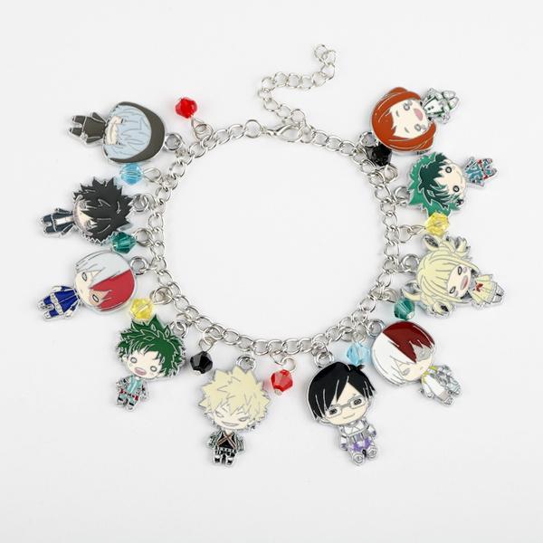 Charm Bracelet, myheroacademia, Jewelry, Bangle