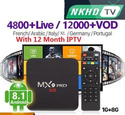 Box, androidtvbox, Italy, TV