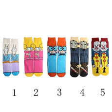 cartoonsock, Cotton Socks, stephenkingsitsock, Funny