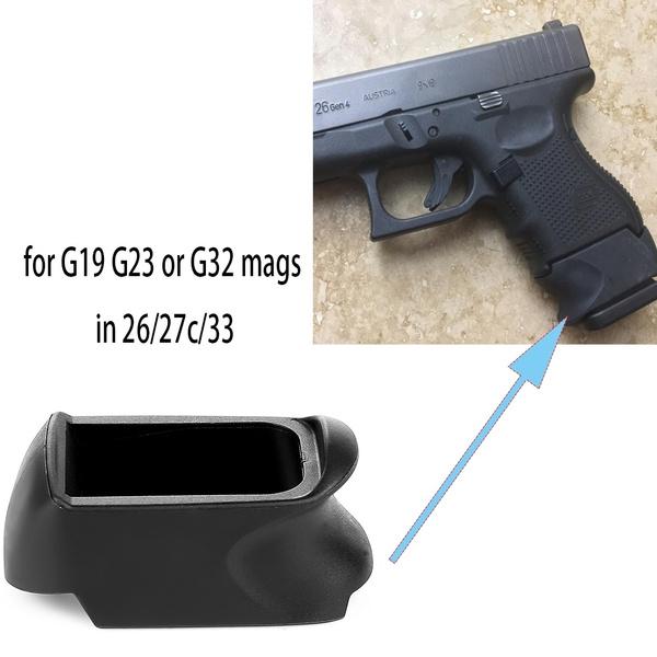 xgripadapter, glock2627c, xgrip, Adapter