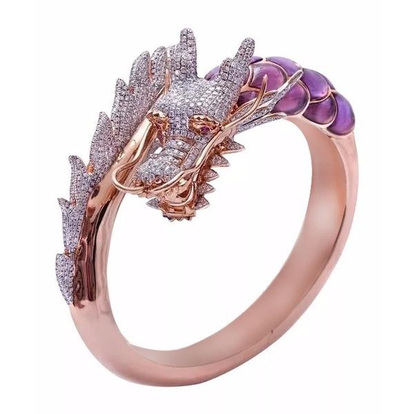 DIAMOND, dragonring, Chinese, Engagement Ring