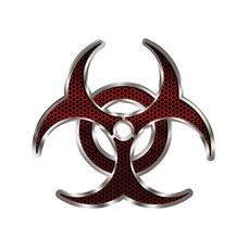 Car Sticker, Fashion, biohazardredhex, Stickers