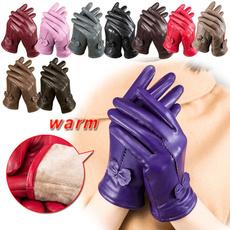 sheep skin, Winter, leather, winterglove