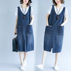 strapsskirt, overallsjumpsuit, Dress, Overalls