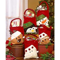 Christmas, Gifts, Food, Santa Claus