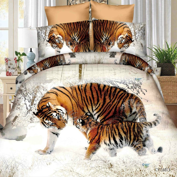 King, beddingsets3d, Polyester, 4pcssheet