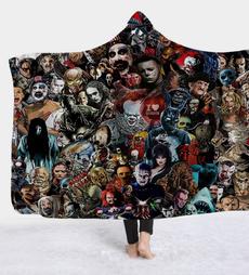 Fashion, Blanket, thickdoublelayerblanket, Print