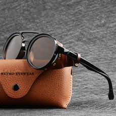 retro sunglasses, Goth, Fashion, Round Sunglasses