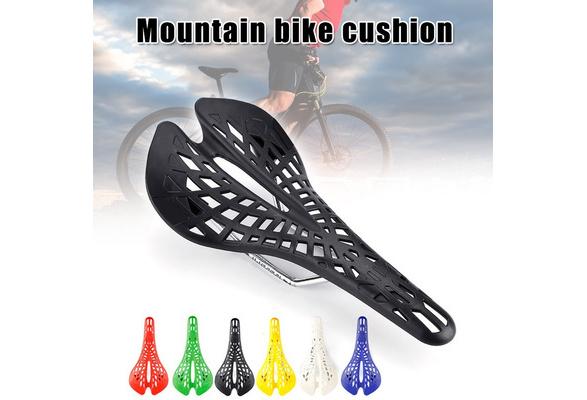 Mountain Bike Saddle Seat Plastic Cycling Racing Hollow Cushion Pad