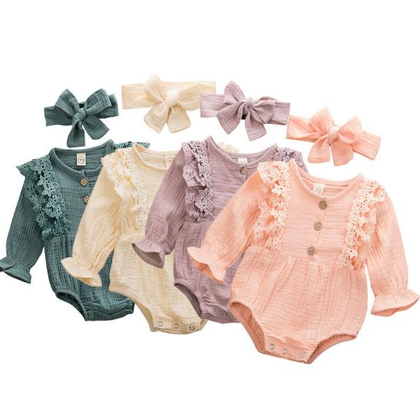 Baby Girl, babyromper, babylongsleeveromper, babyromperjumpsuit