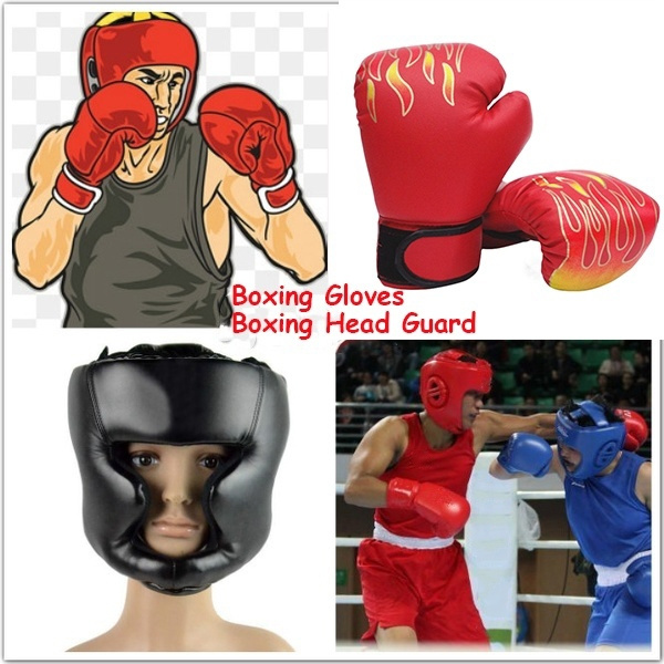 boxingtraininghelmet, Helmet, Training, leather