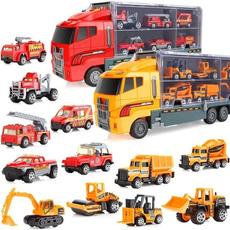 Mini, bulldozer, Toy, Christmas