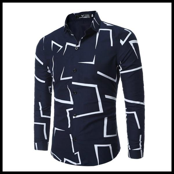 Men, Cotton Shirt, Shirt, Sleeve