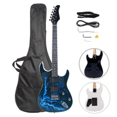 Blues, Dark, lightningstyle, Musical Instruments