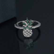 Sterling, Silver Jewelry, Fashion, leaf