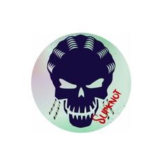 Car Sticker, luggagesticker, windowsticker, skull