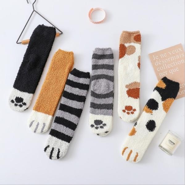 wintersock, Fleece, Cotton Socks, velvet