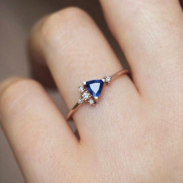 DIAMOND, wedding ring, gold, Women's Fashion