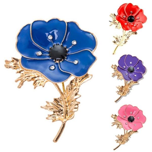 Flowers, Jewelry, Gifts, enamelbrooch