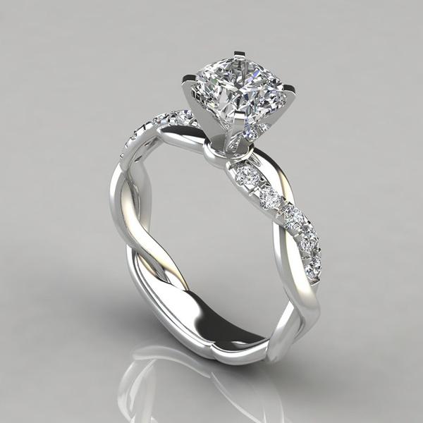Beautiful, Fashion, wedding ring, gold