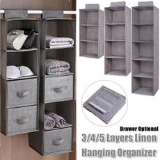 storagerack, Closet, drawer, hangingbag